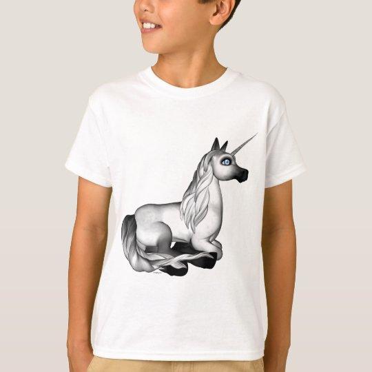 Unicorn Blue Eyes Diamond T-Shirt