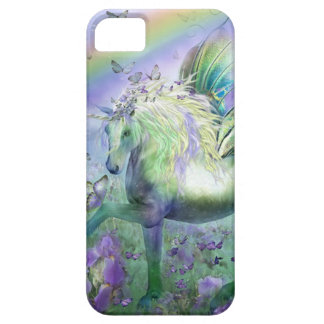 Unicorn Butterflies And Ranbows Case For The iPhone 5