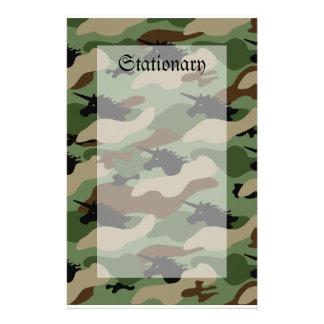 Unicorn Camouflage Stationery