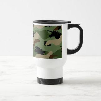 Unicorn Camouflage Travel Mug