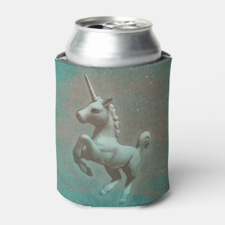 Unicorn Can Cooler (Teal Steel)