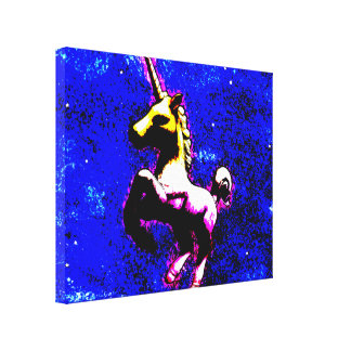 Unicorn Canvas Art Print 14x11 (Punk Cupcake)