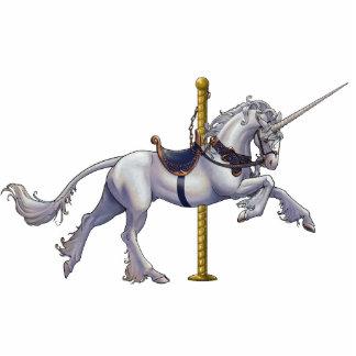 Unicorn Carousel Cutout/Pin Standing Photo Sculpture