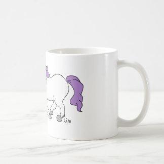 Unicorn & Carrot Classic White Coffee Mug