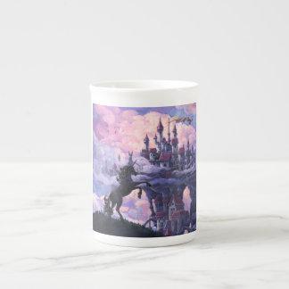 Unicorn Castle Bone China Mug