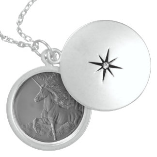 UNICORN CHARM STERLING SILVER NECKLACE
