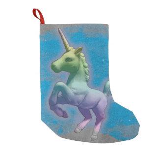 Unicorn Christmas Stocking (Blue Nebula)