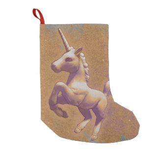 Unicorn Christmas Stocking (Metal Lavender)
