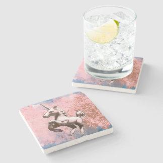 Unicorn Coaster - Stone (Faded Sherbet)