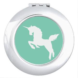 unicorn compact mirror