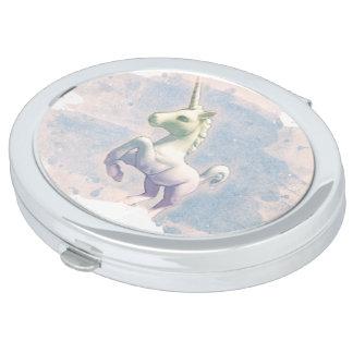 Unicorn Compact Mirror Oval (Moon Dreams)