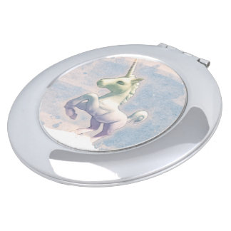 Unicorn Compact Mirror Round (Moon Dreams)