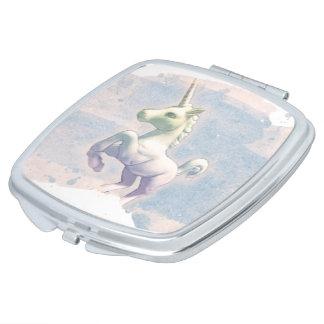 Unicorn Compact Mirror Square (Moon Dreams)