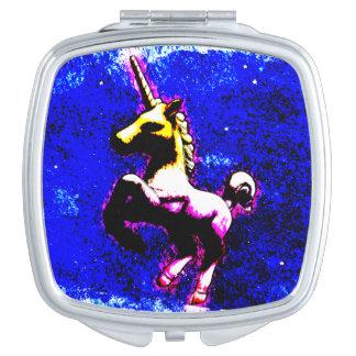 Unicorn Compact Mirror Square (Punk Cupcake)