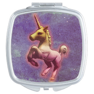 Unicorn Compact Mirror Square (Purple Mist)