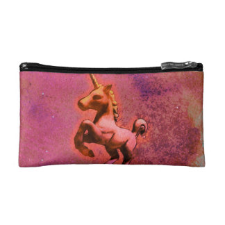 Unicorn Cosmetic Bag Clutch (Red Intensity)