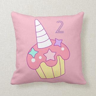 Unicorn Cupcake Cushion