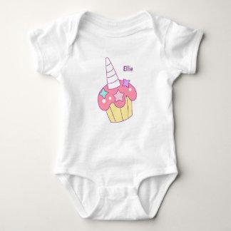 Unicorn Cupcake Vest Baby Bodysuit