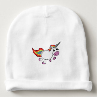 Unicorn, Custom Baby Cotton Beanie Baby Beanie