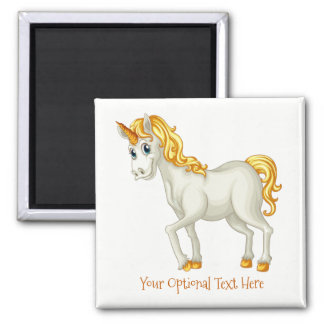 Unicorn custom text magnet