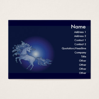 unicorn - Customizable Business Card