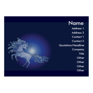 unicorn - Customizable Pack Of Chubby Business Cards