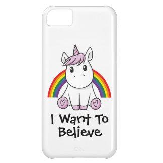 Unicorn (customizable text) Illustration iPhone 5C Case