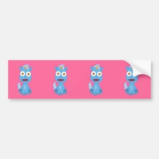 Unicorn - Cute Fantasy Character Bumper Stickers