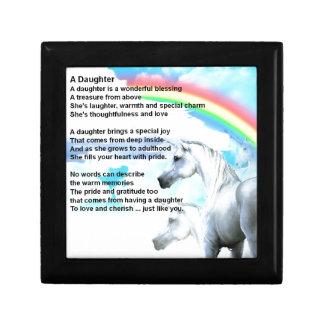 unicorn - Daughter Poem Gift Box