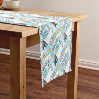 unicorn - Daughter Poem Short Table Runner