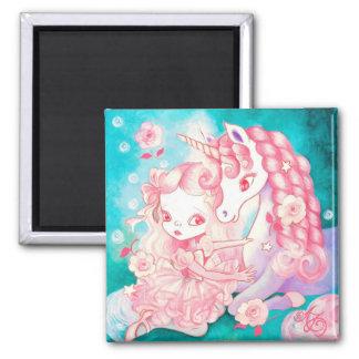 Unicorn Delight Refrigerator Magnet