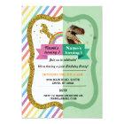 Unicorn & Dinosaur Joint Boy girl Birthday Invites