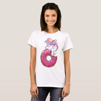 Unicorn & donut T-Shirt
