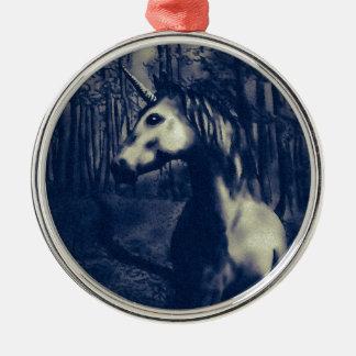 Unicorn drawing christmas ornament