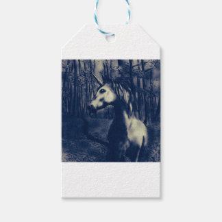Unicorn drawing gift tags
