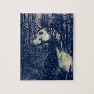 Unicorn drawing jigsaw puzzle