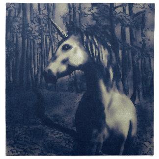 Unicorn drawing napkin