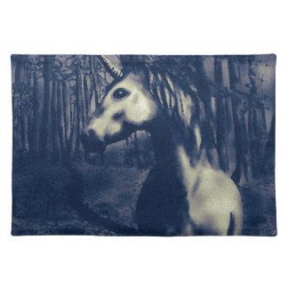 Unicorn drawing placemat