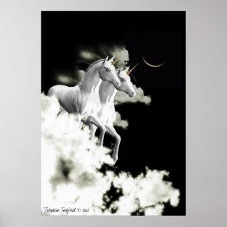 Unicorn dreaming poster