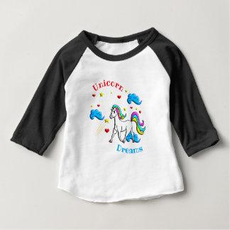 Unicorn Dreams Baby T-Shirt