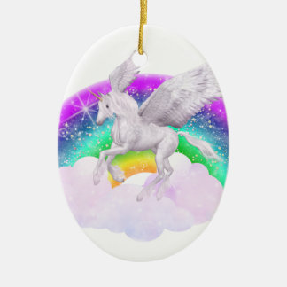 Unicorn Dreams Christmas Ornament