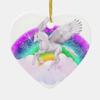Unicorn Dreams Christmas Ornament