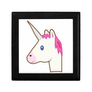 Unicorn emoji gift box
