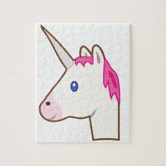 Unicorn emoji jigsaw puzzle