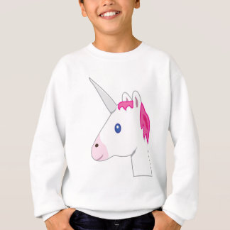 Unicorn emoji sweatshirt
