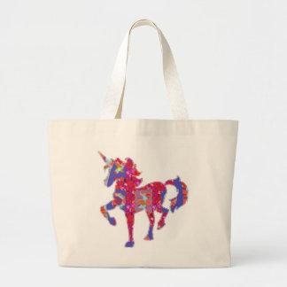 UNICORN Exotic Adventure Animal World Graphic Canvas Bags