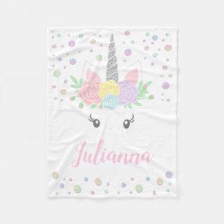 Unicorn Face Blanket