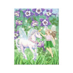 Unicorn Fairy Canvas Canvas Print
