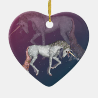 Unicorn Fantasy Christmas Ornament