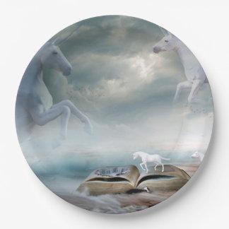 Unicorn Fantasy Party Paper Plates